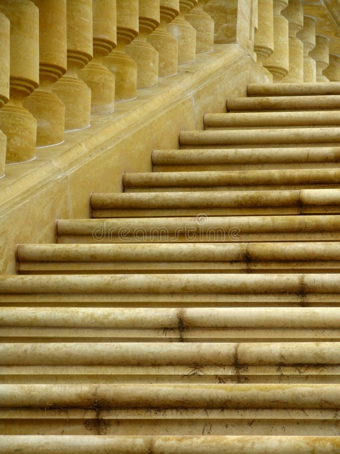 Free Old Staircase - Balustrade Royalty Free Stock Images - 7977529