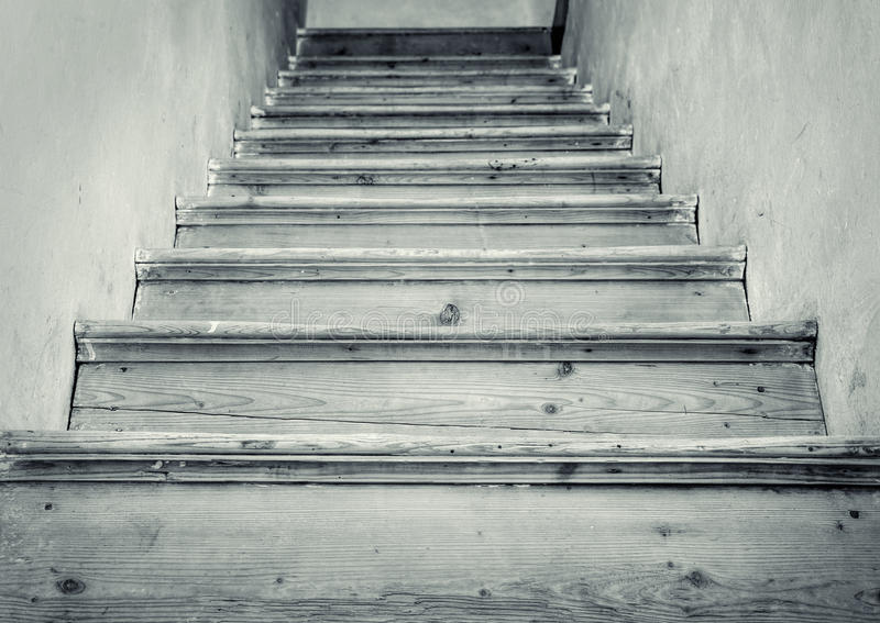 Download Old Stairs To The Attic Stock Image   Image: 37713151
