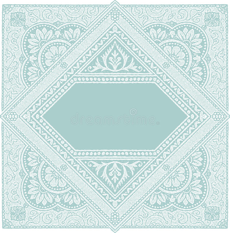 Download Old stamp stock vector. Image of antique, architectonic - 22652487