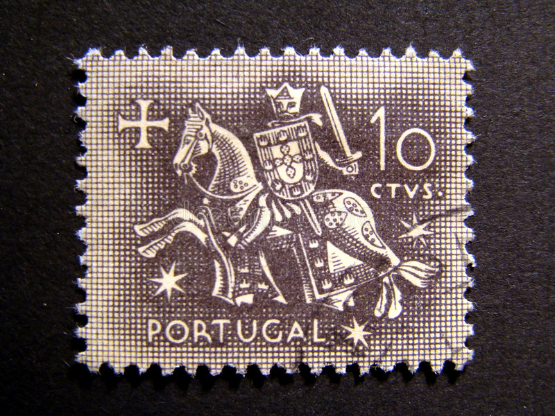 Download Old Stamp (Knight Templar) Stock Images - Image: 4519124