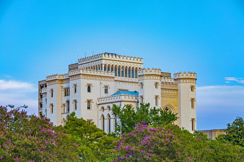 Old state capitol. Old historic state capitol in Baton Rouge royalty free stock image