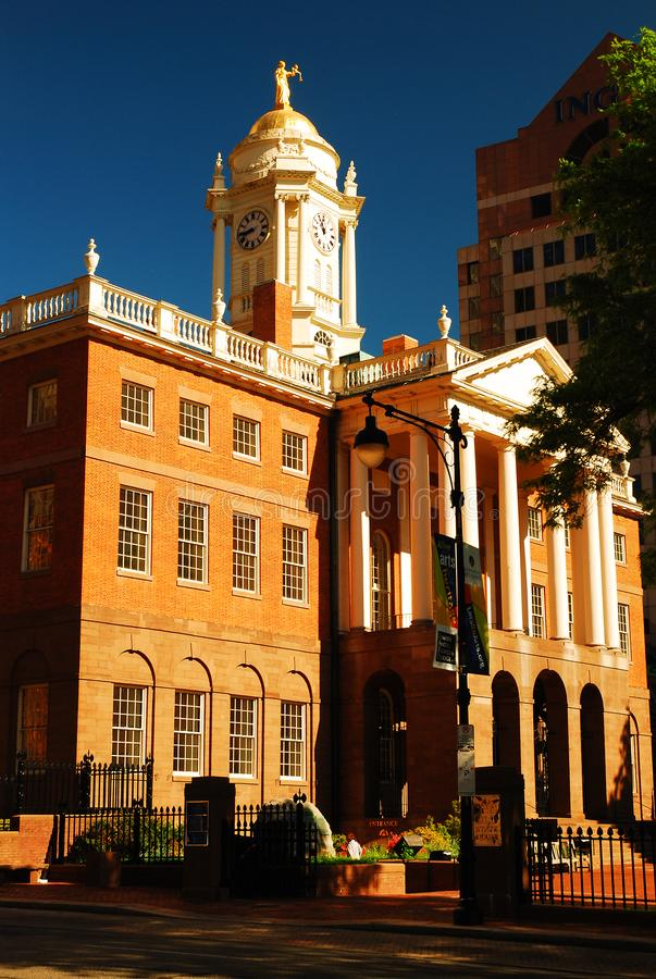Hartford Old State House stock image