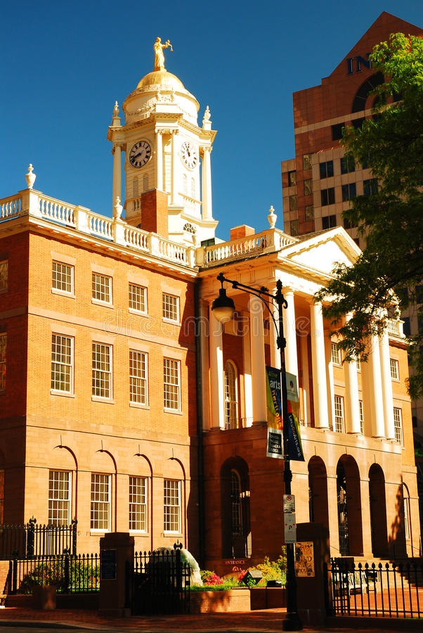 Old State House, Hartford stock photo