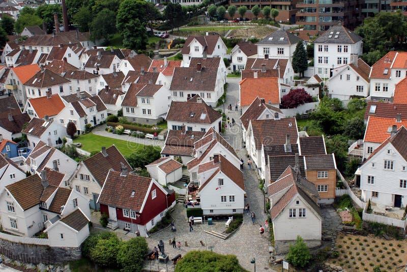 Old Stavanger - View stock photo