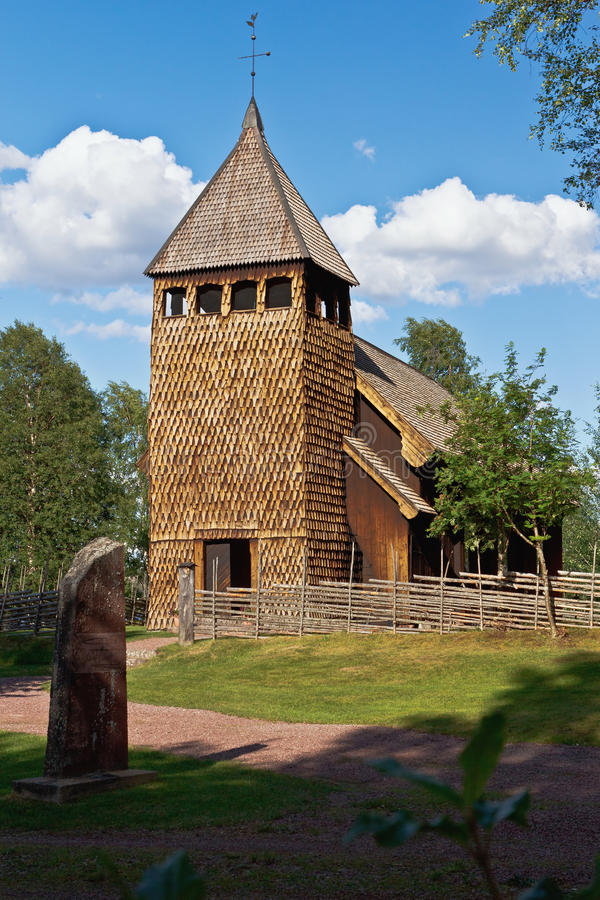 Free Old Stave Church Stock Photos - 22913663