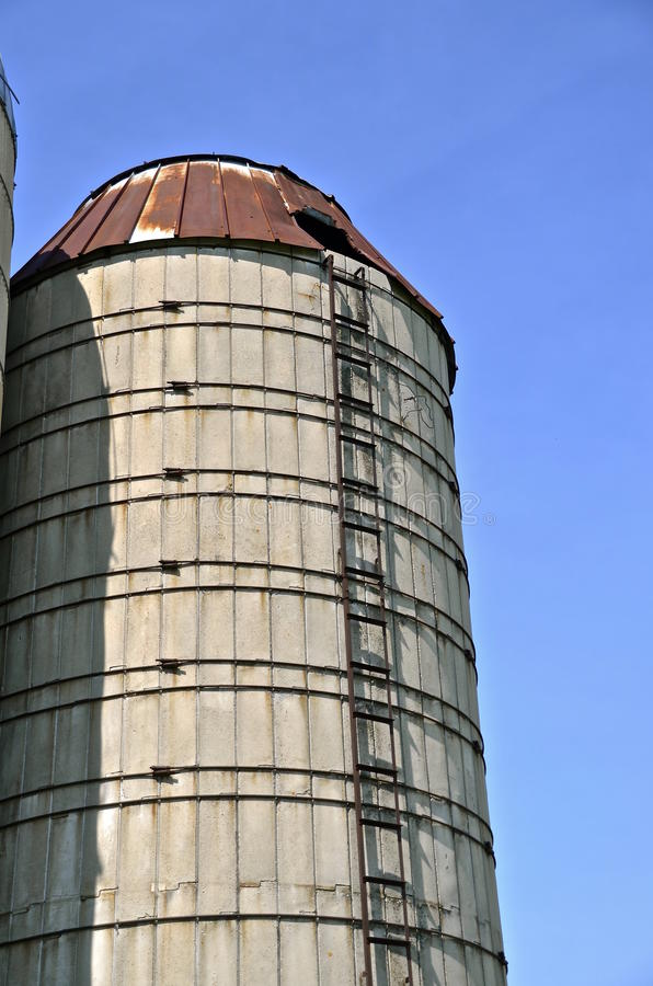 Download Old Stave Silo Stock Photo   Image: 61123021