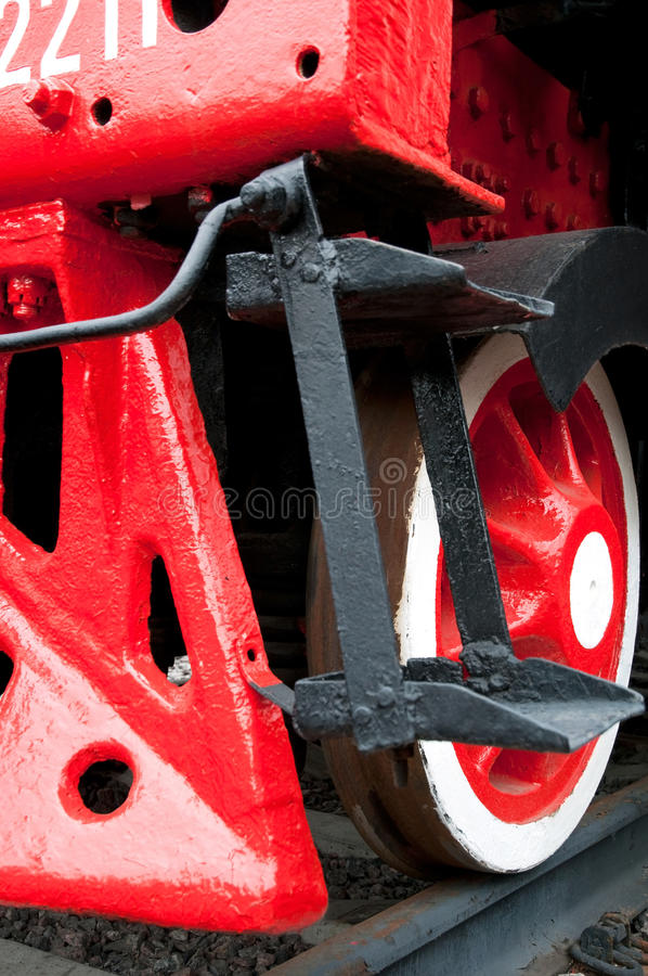 Free Old Steam Engine Train Close-up Stock Photography - 15160932