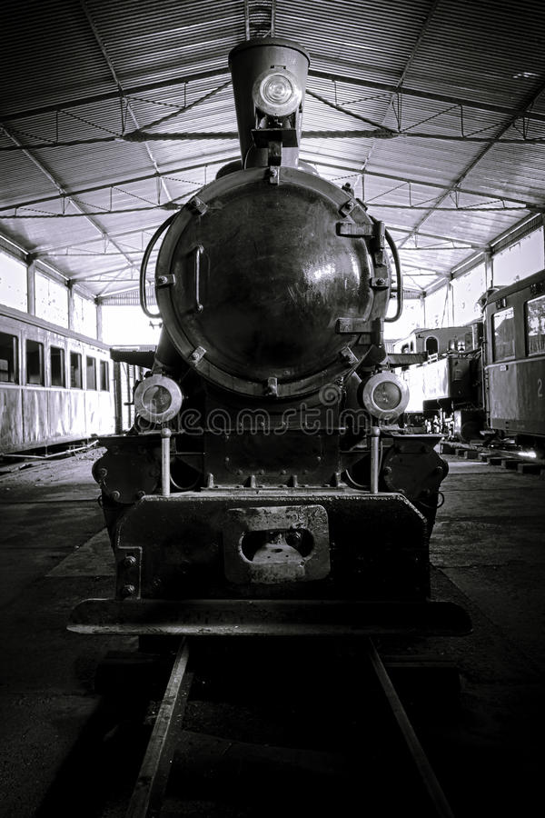 Free Old Steam Locomotive Royalty Free Stock Images - 14888849