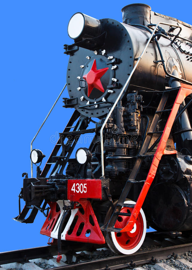Download Old Steam Locomotive stock photo. Image of black, photography - 25870114