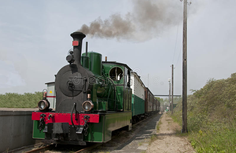 Download Old steam train in Holland stock photo. Image of gauge - 25124552