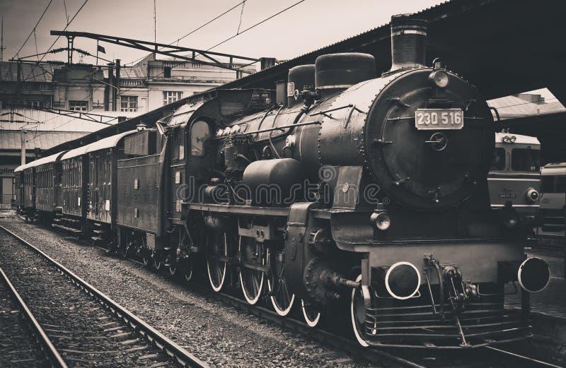 Old steam train stock photos