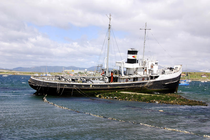 Download Old steamship stock photo. Image of nautical, dock, antarctica - 26911436
