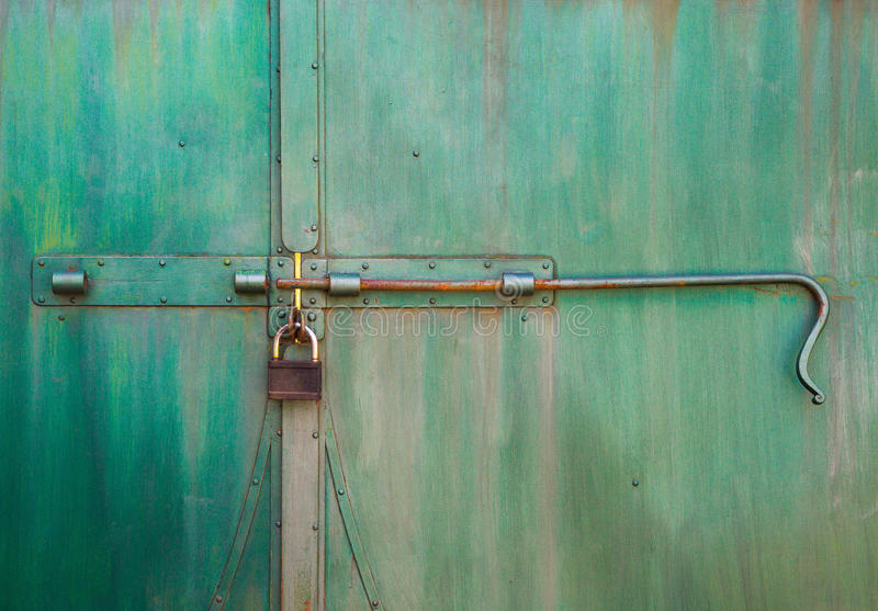 Download Old Steel Doors Stock Photo - Image: 83713930