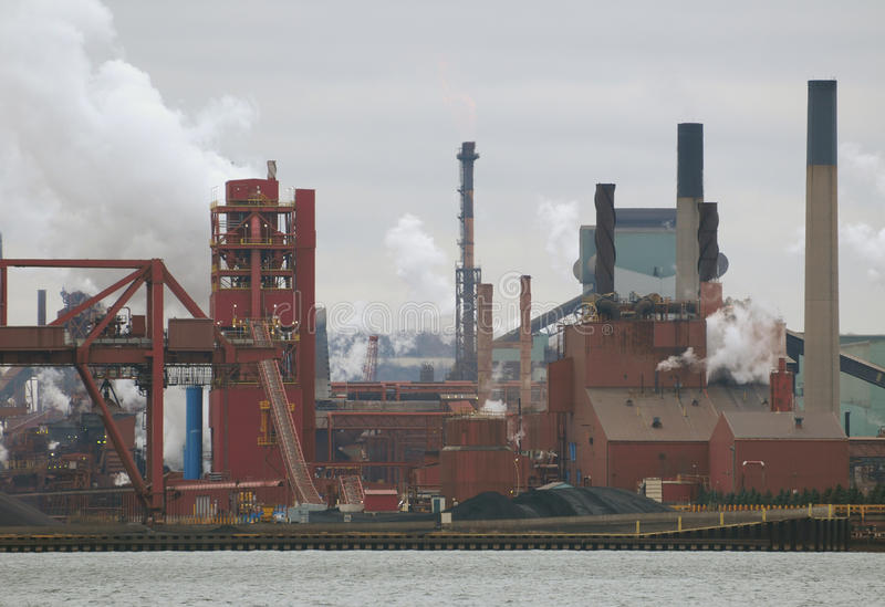 Download Old Steel Manufacturing Plant Stock Image - Image: 12041467