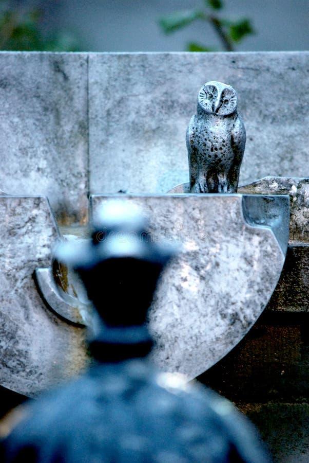Old steel owl stock photos