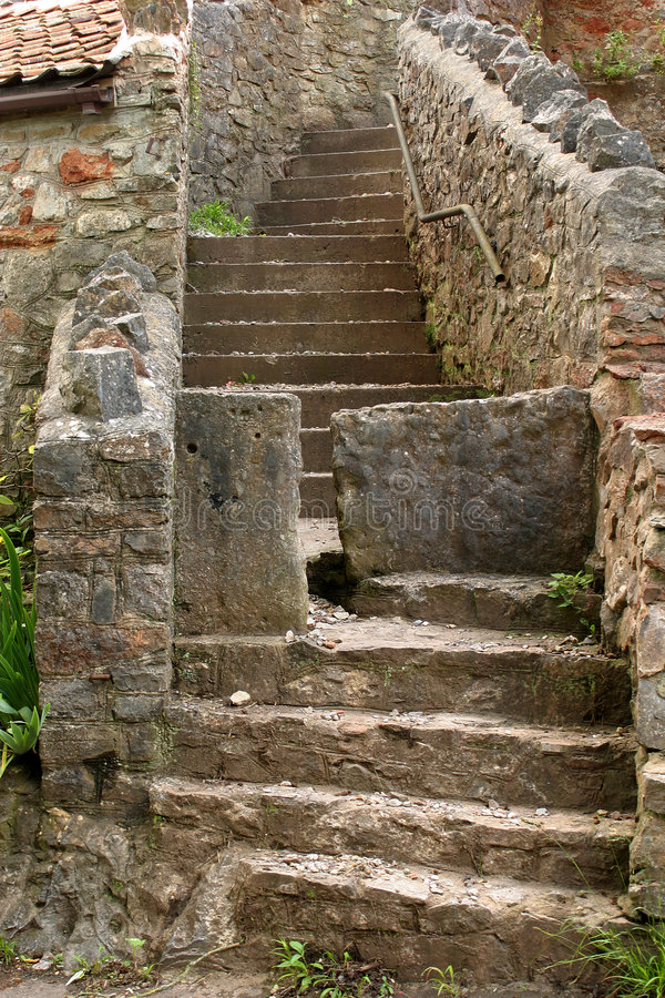 Download Old steps stock photo. Image of stepsclimb, used, handrail - 2736312