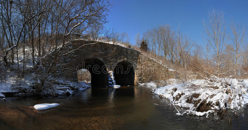 Download Old stone arch bridge stock image. Image of river, bank - 13178747