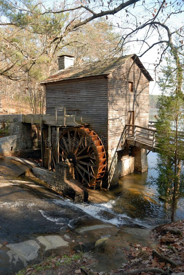 Download Old stone mill stock image. Image of water, mountain - 12281223