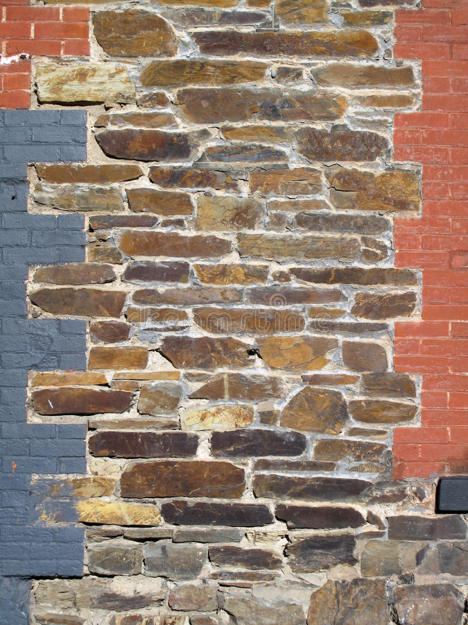 Mixed Stone Bricks Wall Stock Images Download 91 Royalty