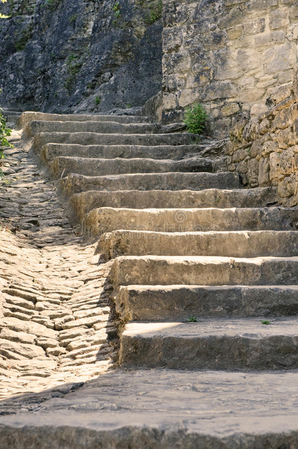 Free Old Stone Stairs Stock Images - 10358104