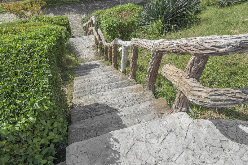 Old stone steps. royalty free stock photo