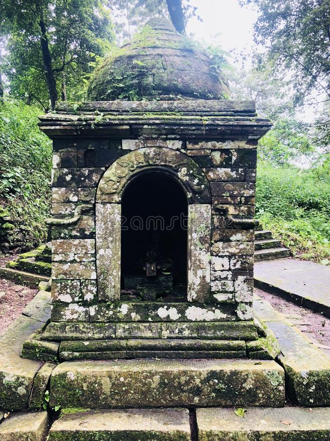 Old stone temple royalty free stock photos