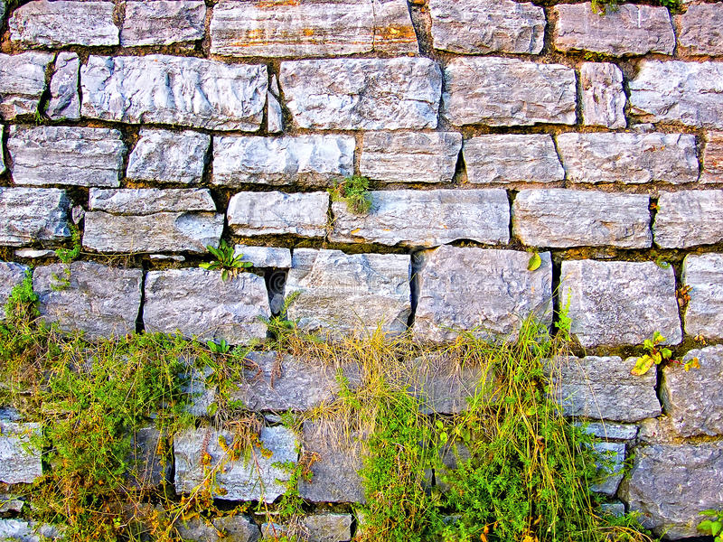 Download Old stone wall. stock image. Image of foundation, castle - 10979837