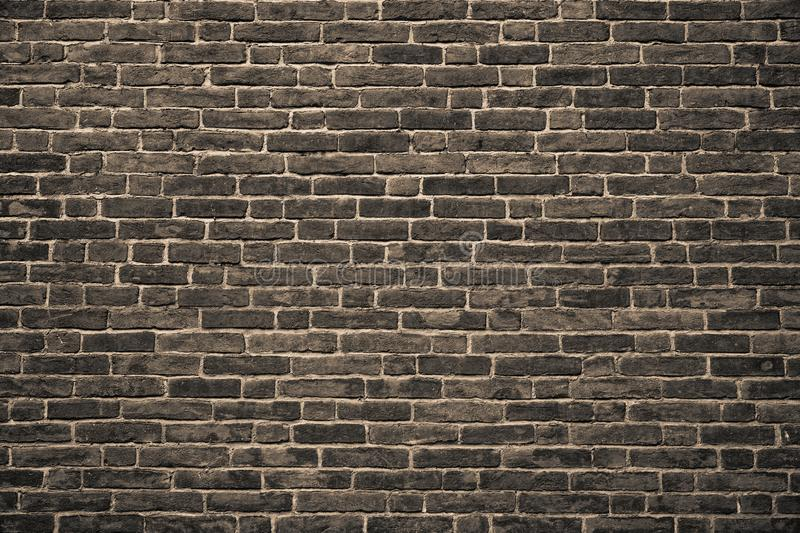 Old stone wall, grunge technique texture, rock rough surface. royalty free stock photography