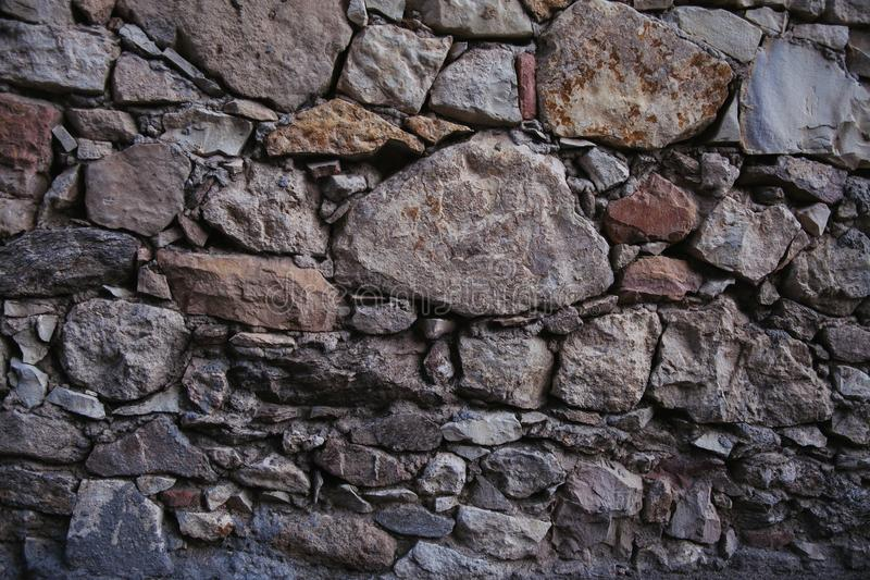 Old stone wall texture and background. Rock wall background. stock images