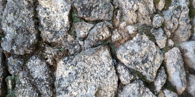 Old Stone Wall Texture. Stone Wall Texture. Grey. Parede de Pedra stock photo