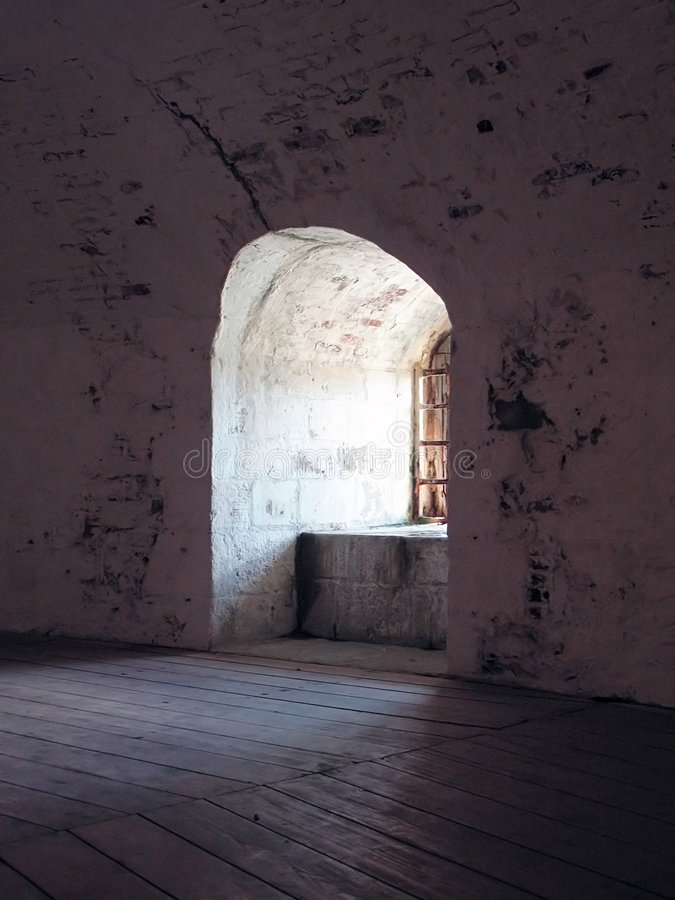 Download Old Stone Window Royalty Free Stock Photography - Image: 3193187