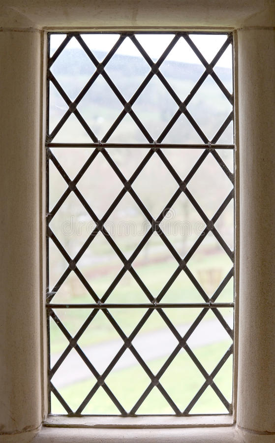 Old stone window frame stock images