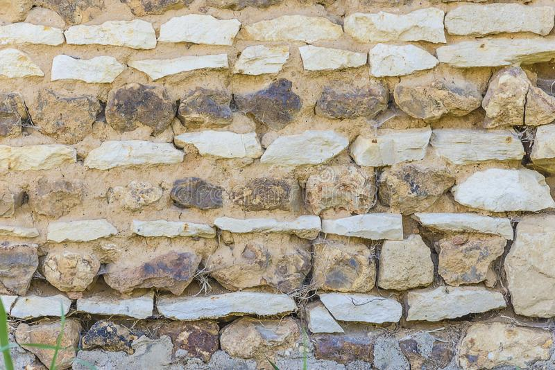 Old stones wall background royalty free stock photography