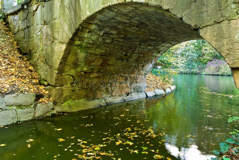 Old stony bridge royalty free stock images