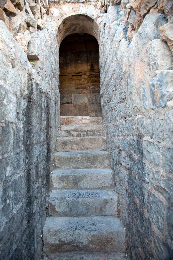 Free Old Stony Stairs Royalty Free Stock Images - 19038289