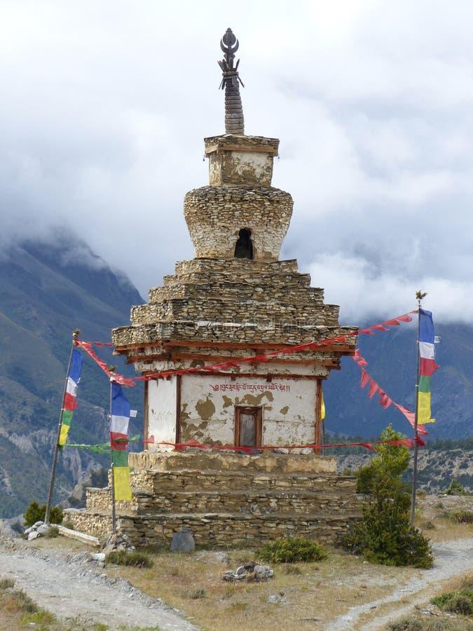 Old Stony Stupa stock images