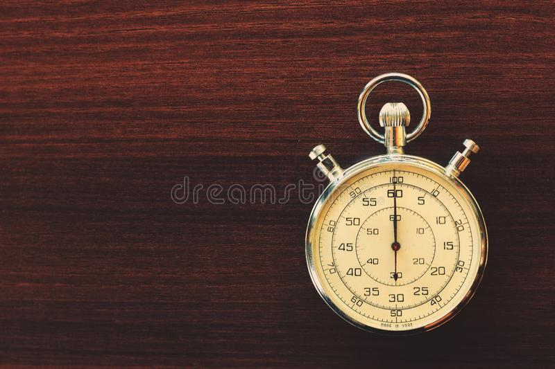 Old stopwatch royalty free stock photography