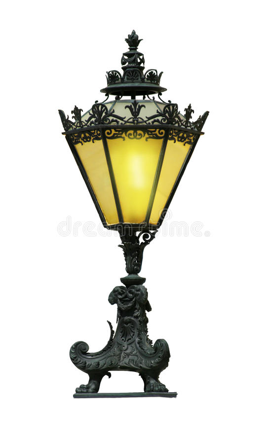Free Old Street Lamp Royalty Free Stock Photo - 10284985