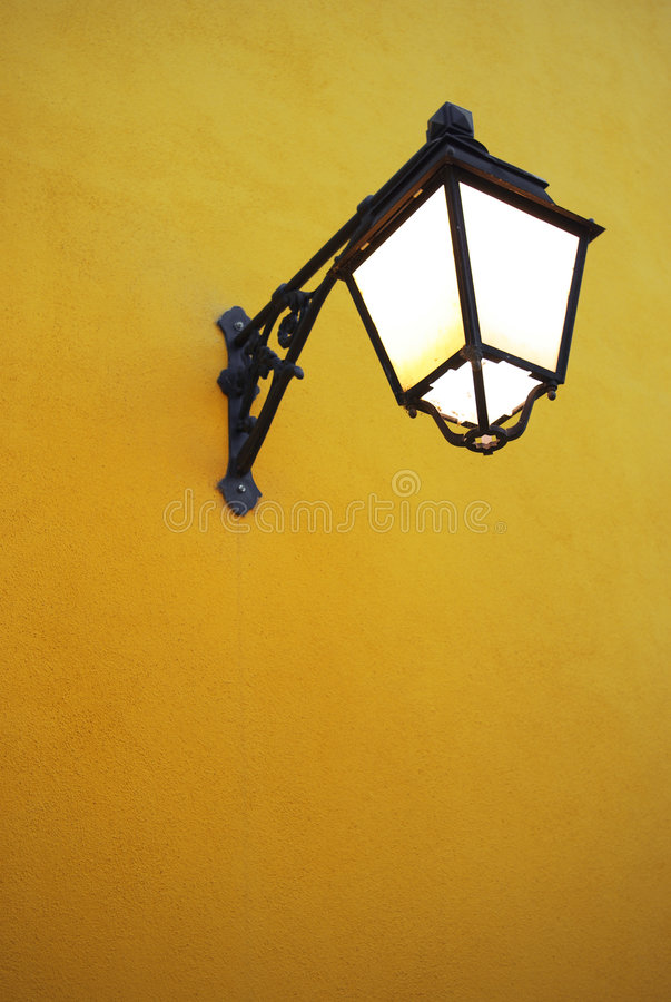 Download Old Street Lamp stock image. Image of lamppost, city, copy - 2584011