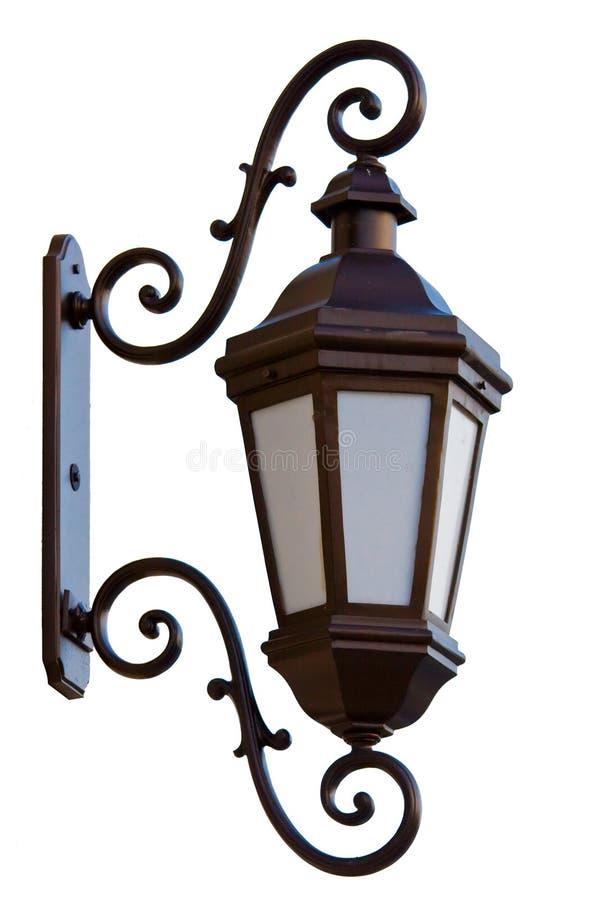 Old street lantern royalty free stock photos