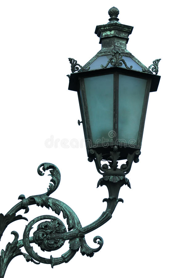 Old street lantern stock images
