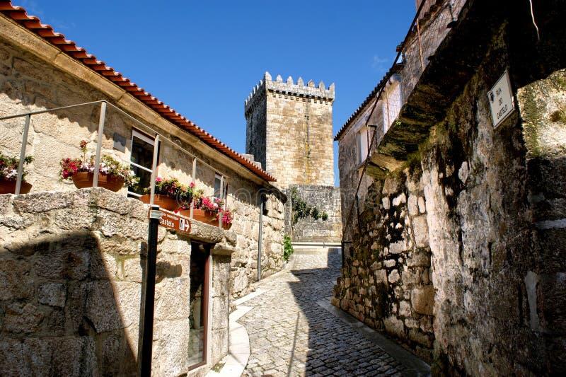Old Street Of Melgaco Royalty Free Stock Image