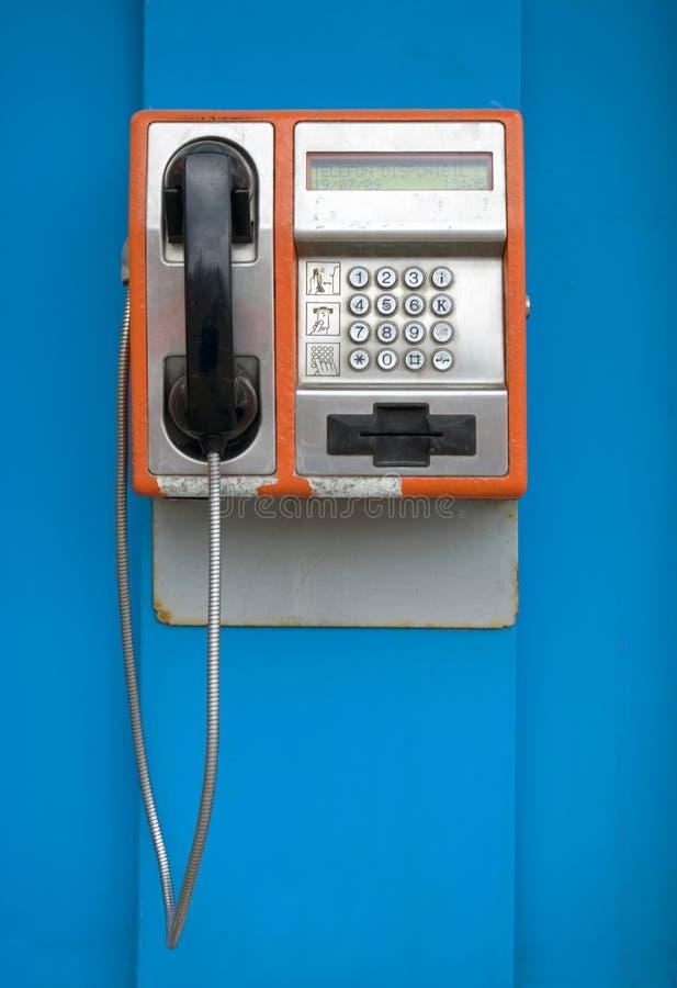 Old street phone stock image