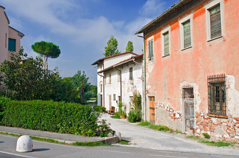Download Old street in Pisa stock image. Image of dilapidated - 22029299