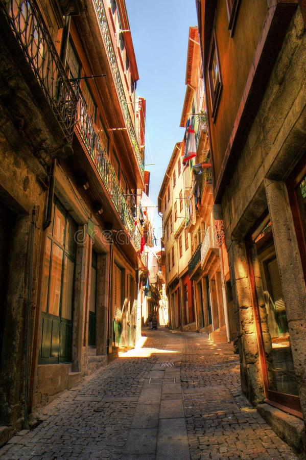 Download Old street in Porto stock image. Image of house, port - 80749047
