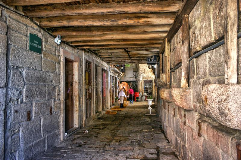 Download Old street in Porto editorial image. Image of ancient - 80749290