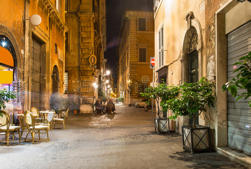 Old Street In Rome Stock Photo Image 35962280