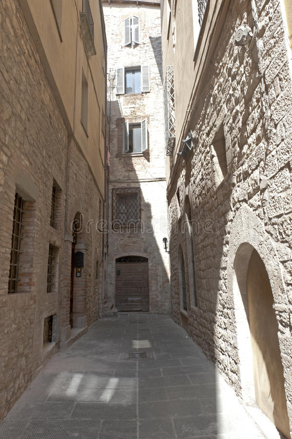 Download Old street of Todi stock image. Image of ancient, architecture - 23114981