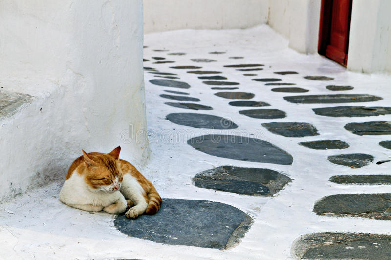 Download Old Streets St Mykonos Island Stock Photo - Image: 31278110