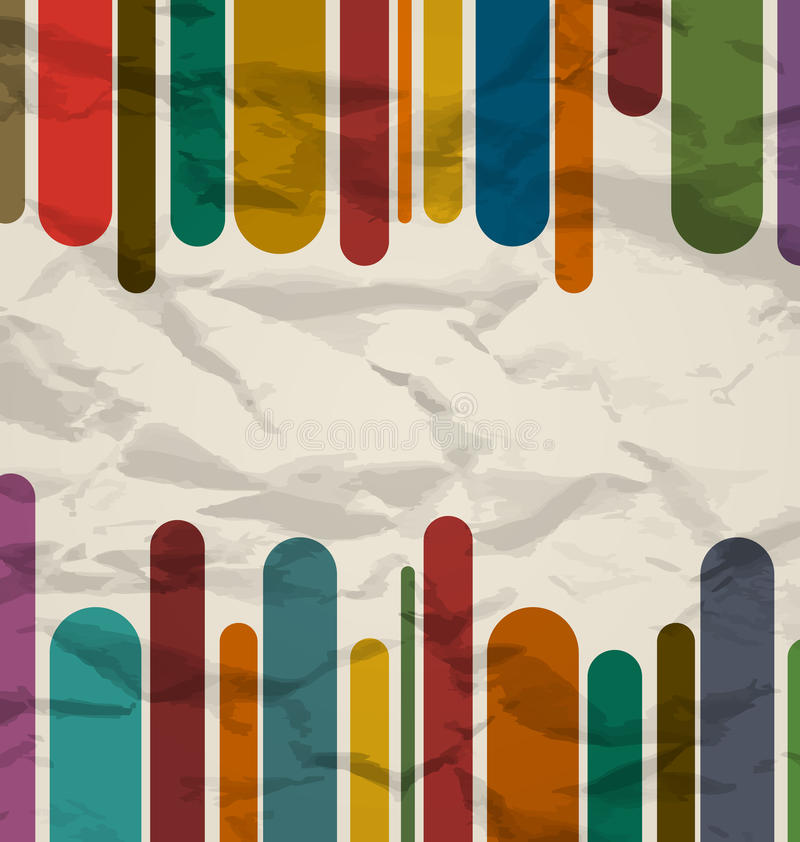 Download Old Striped Template, Colorful Vintage Background Royalty Free Stock Image - Image: 28729766